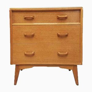 Mid-Century Retro Oak Chest of Drawers from G Plan, 1950s
