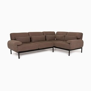Plura Dark Brown Corner Sofa by Rolf Benz