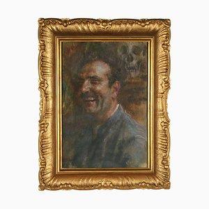 Giuseppe Maldarelli, óleo sobre lienzo
