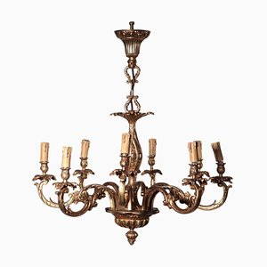 Lámpara de araña estilo rococó