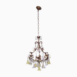 Lámpara de araña de tres luces
