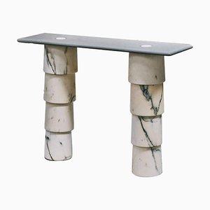 Konsolentisch aus Marmor von Samuel Brianza