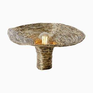 Lampada da tavolo Wrap in abete di Johannes Hemann