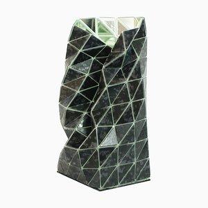 Jarrón Touch-Me 2.0 de cristal de Murano hecho a mano de Matteo Silverio