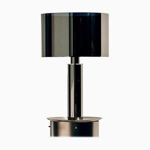 Miami Silver Table Lamp by Brajak Vitberg for Cor