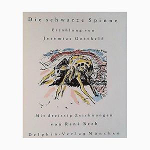René Beeh, Die Schwarze Spinne, Seltenes Vintage Buch, 1918