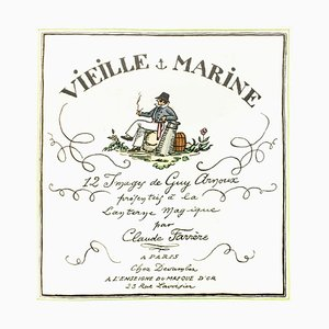 Guy Arnoux, Vieille Marine, Buch von C. Farrère Illustriert von G. Arnoux, 1920