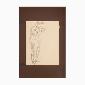 Unknown, Figure, Pencil, Early 20th Century