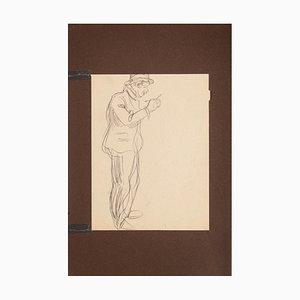 Unknown, Figure, Pencil, Frühes 20. Jahrhundert