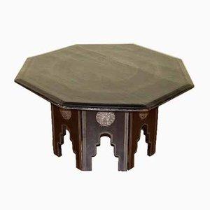 Mesa de centro de madera lacada en negro