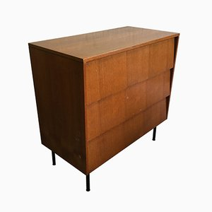 Walnut Secretary Desk by Leonardo Fiori, 1950s