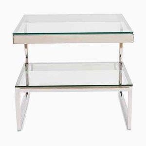 Chrome G Side Table