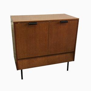 Mueble bar de nogal y formica de Leonardo Fiori