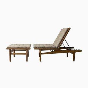 Sofá cama GE-1 de Hans J. Wegner para Getama
