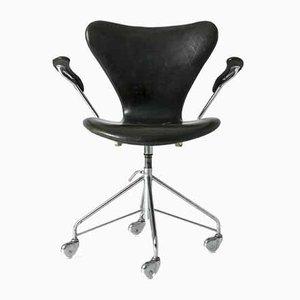Seven Bürostuhl von Arne Jacobsen für Fritz Hansen