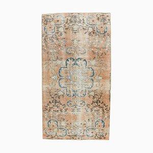 Turkish Vintage Oushak Handmade Wool Rug