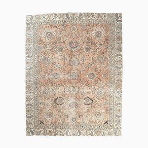 Turkish Vintage Oushak Handmade Wool Carpet