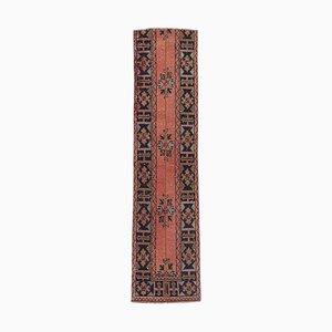 Vintage Turkish Oushak Narrow Runner Rug