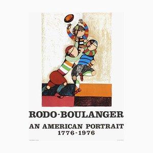 An American Portrait von Graciela Rodo Boulanger