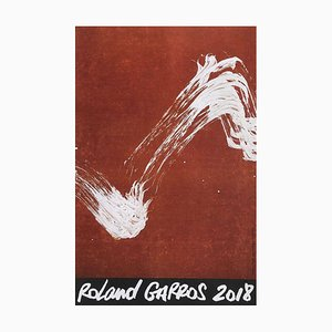 2018 Roland-Garros Official Poster by Fabienne Verdier