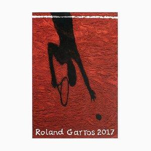 2017 Roland-Garros Poster von Vik Muniz