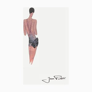 Fashion Drawing IV by Jean Patou