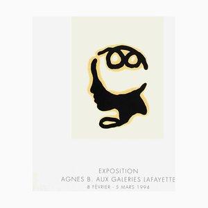 Póster de Expo 94 Agnès B. At Galeries Lafayette de Loulou Picasso