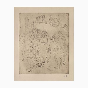 161, The Broken Jug by Jules Pascin