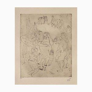 161, The Broken Kanne von Jules Pascin