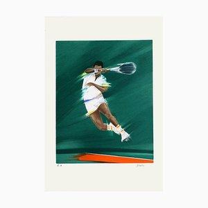 Smash Final of Tennis von Victor Spahn