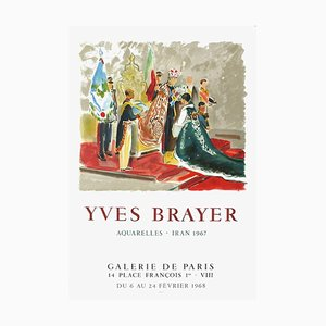 Expo 68 The Coronation of Iran Poster von Yves Brayer