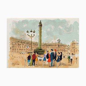 Paris, Place Vendome by Urbain Huchet