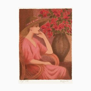 Woman with Fuchsia by Annie Retivat
