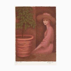 Girl at the Window von Annie Retivat
