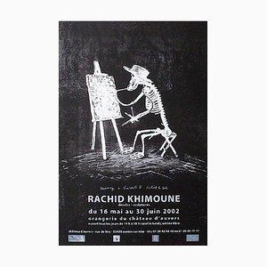 Expo 2002 Schloss von Auvers Poster von Rachid Khimoune