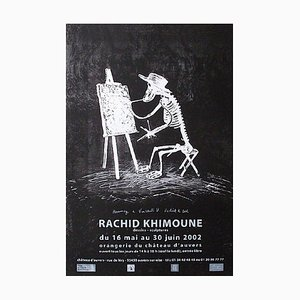 Póster del castillo de Auvers de 2002 de Rachid Khimoune