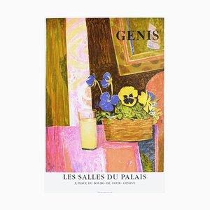 Expo 97 Les Salles Du Palais II Poster von Rene Genis