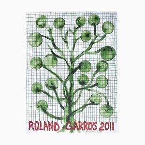 Offizielles 2011 Toguo Poster von Roland-Garros