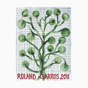 Póster oficial 2011 de Toguo de Roland-Garros