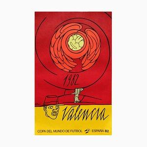 Copa Del Mundo De Futbol 82 Poster by Valerio Adami