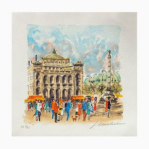 Paris, Le Châtelet Ii par Urbain Huchet