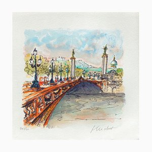 Paris, Pont Alexandre III by Urbain Huchet