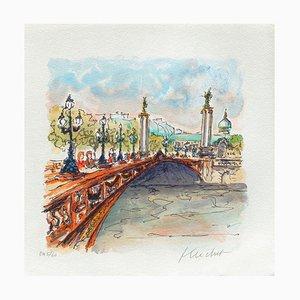 Paris, Pont Alexandre III de Urbain Huchet