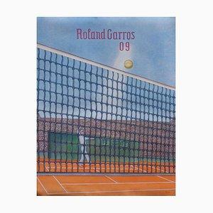 2009 Konrad Klapheck Poster von Official Roland-Garros