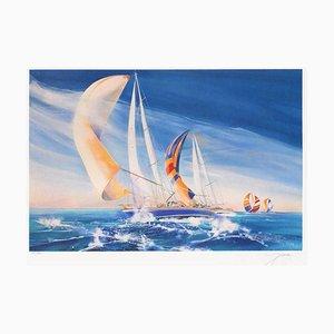The Sailboat von Andrew Spencer Alias Bongibault
