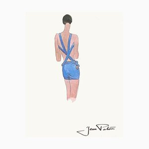 Fashion Drawing I by Jean Patou