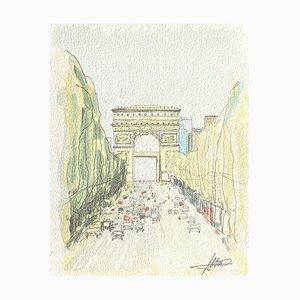 Paris Les Champs-Elysées par Katsuhiro Nagashima