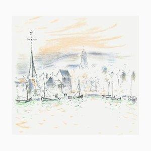 Lights Honfleur I von Andre Hambourg