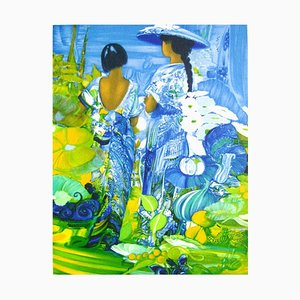 Two Women von Gérard Le Nalbaut