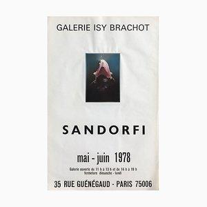 Expo 78 Galerie Isy Brachot Plakat von Istvan Etienne Sandorfi